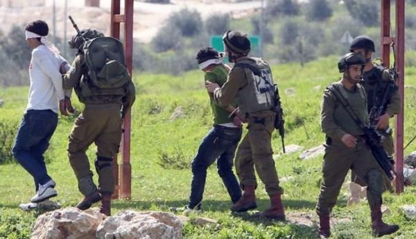 اعتقالات خلال اقتحام الاحتلال لمخيم (قلنديا)