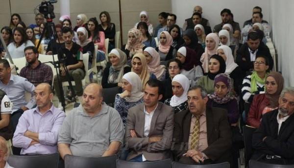 مؤسسة فلسطين تستضيف د. حنا سويد في عمان حول قضية الأرض
