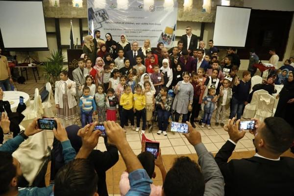 الرئيس السلوفيني الأسبق د. دانيلو يزور قطاع غزة لأول مرة