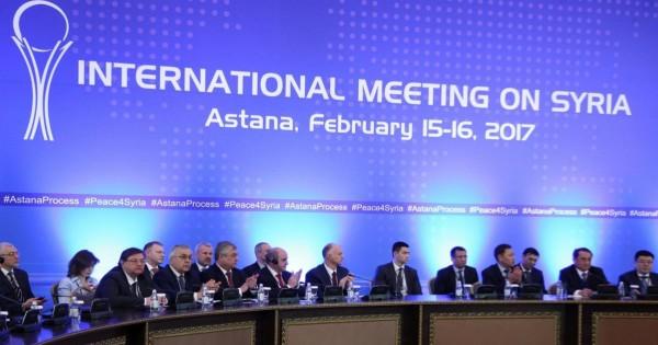جولة سورية سابعة من مفاوضات (أستانا) نهاية الشهر الجاري