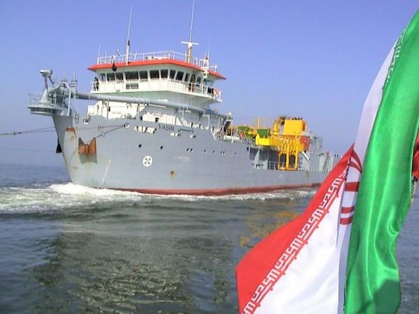 ضبط سفينة تهريب إيرانية في المياه اليمنية
