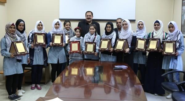 صيدم يكرم معلمين مشاركين في برنامج السلامة على الطرق