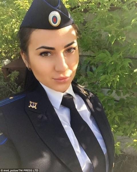 شرطيات روسيا ملكات جمال عبر إنستجرام