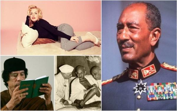 شاهد آخر صور التقطت لمشاهير العالم قبل وفاتهم