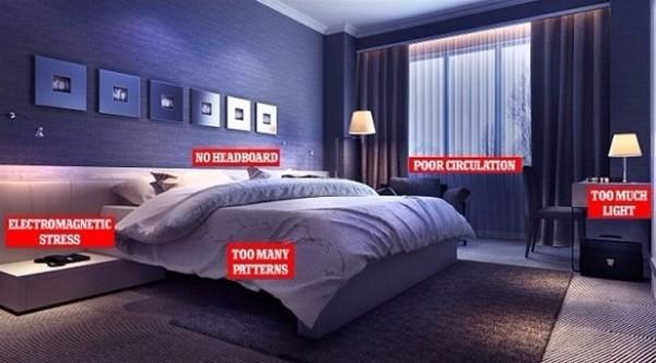 5 أخطاء في غرفة النوم تحرمك من الراحة