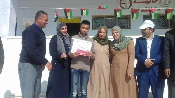 مدرسة ذكور امريش الاساسية تحيي ذكرى رحيل أبو عمار