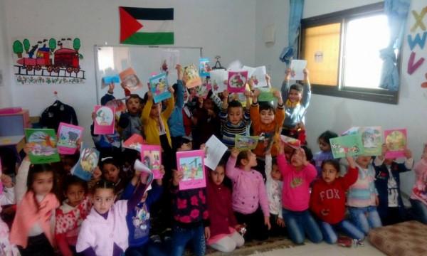 ثقافة طوباس تنظم سلسلة من الأنشطة في رياض الأطفال