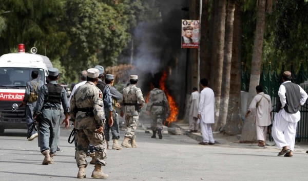 اثنان وعشرون قتيلاً من الشرطة الأفغانية إثر هجمات لطالبان