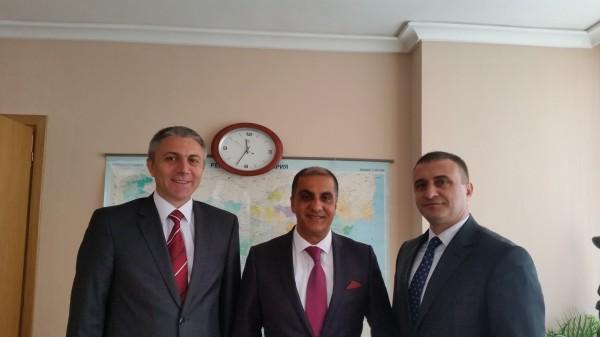السفير المذبوح يلتقي مع رئيس حزب حركة الحقوق والحريات