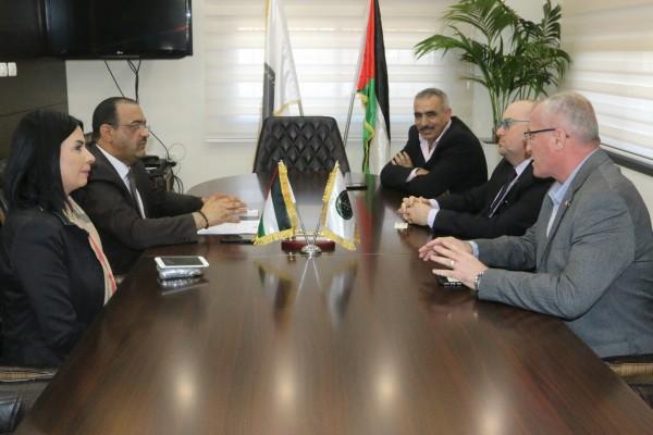 النائب العام يلتقي ممثل جمهورية مالطا