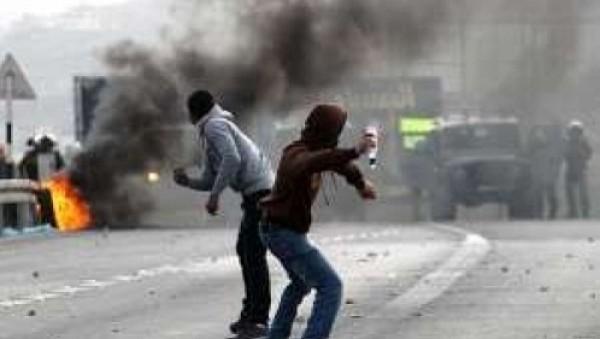 إصابة شاب برصاص الاحتلال في مواجهات اندلعت بتقوع