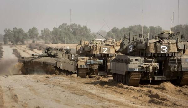 سبع آليات للاحتلال تتوغل بشكل محدود شرقي رفح