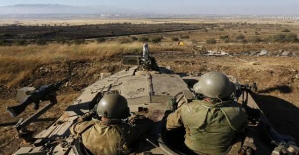 اسرائيل تطلق النار على موقع يتبع للجيش السوري بالجولان