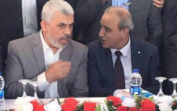 فرج والسنوار: سلاح المقاومة حق لشعبنا طالما لم تقم الدولة الفلسطينية