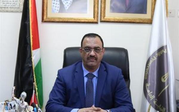 """وصول النائب العام """"أحمد براك"""" إلى قطاع غزة"""