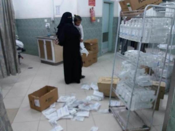 """الصحة تستنكر اعتداء مواطنين على مستشفى """"أبو يوسف النجار"""" برفح"""