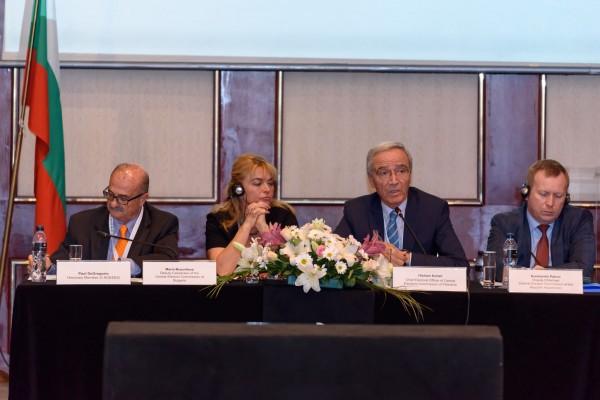 لجنة الانتخابات تشارك في مؤتمر رابطة الانتخابات الأوروبية