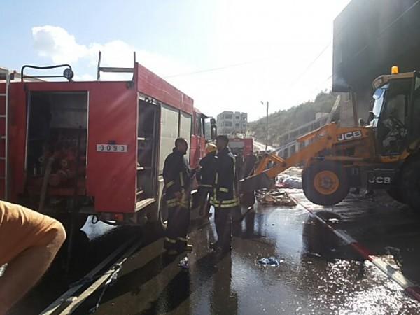 الدفاع المدني يتعامل مع 261 حادث إطفاء وإنقاذ خلال أسبوع