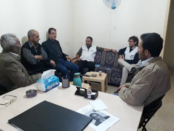 اللجان الشعبية تلتقي جمعية أطباء بلا حدود في عين الحلوة