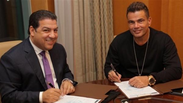 مفاجأة .. عمرو دياب يتجه لتقديم البرامج
