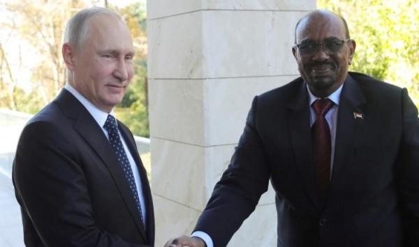 البشير: متوافقون مع روسيا بشأن الملف السوري