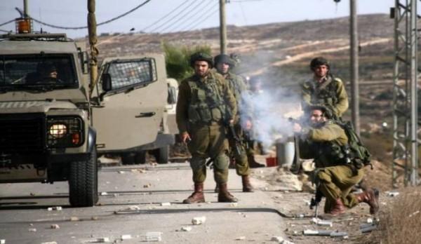 الهلال الأحمر: 59 إصابة بالمواجهات مع الاحتلال ببلدة قصرة بنابلس
