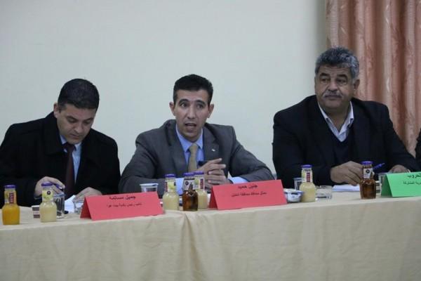 الخليل: بلدية بيت عوا تستضيف اجتماع اللجنة العليا للمرور