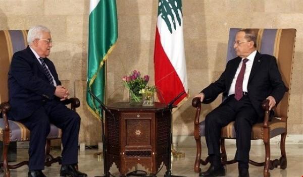الرئيس يتلقى اتصالاً هاتفياً من نظيره اللبناني