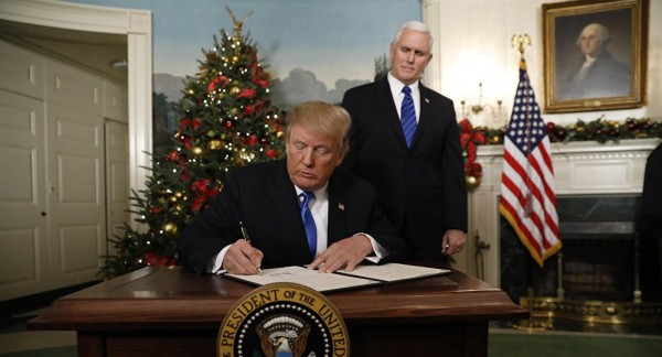 ترامب يبرر قرار القدس بعذر أقبح من ذنب