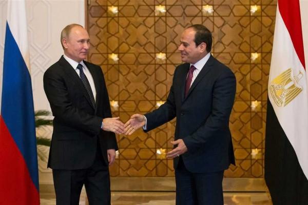 بوتين: مستعدون لاستئناف الطيران مع مصر من جديد