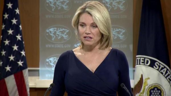 الخارجية الأمريكية: إعلان ترامب لجر الفلسطينيين والإسرائيليين لطاولة المفاوضات