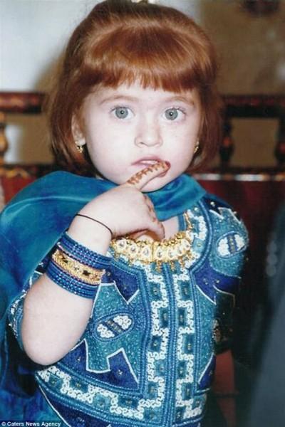 هندية تشكك في نسبها بسبب شكلها شاهد جمالها الآن