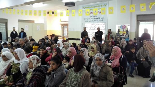 حركة فتح في مخيم قلنديا تنظم يوم طبي مجاني