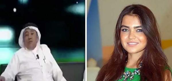 ناقد رياضي سعودي يحرج مذيعة صدى الملاعب بسبب جمالها