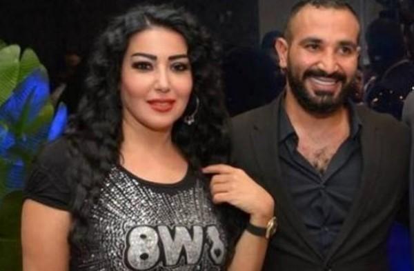 أول ظهور لـ سمية الخشاب مع أولاد زوجها أحمد سعد