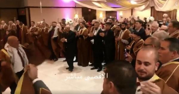 فيديو: عرس فلسطيني تراثي في الولايات المتحدة