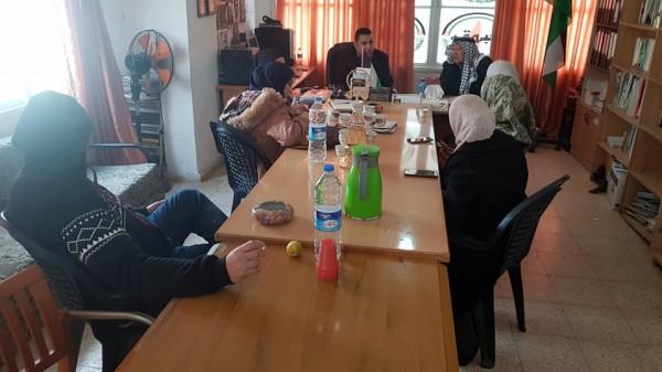 النضال الشعبي تلتقي مجموعة من مؤازري المركز الفلسطيني لقضايا السلام