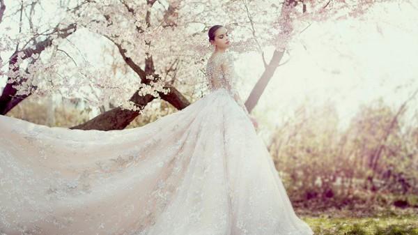 فستان الزفاف الذي صدم العرائس