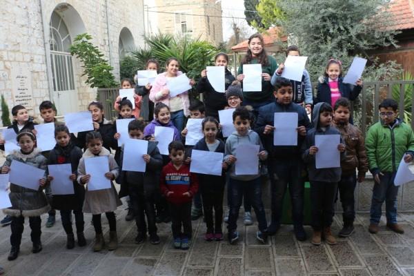 """أطفال """"الياسمين البيئي"""" يحتفلون بيوم الشجر"""
