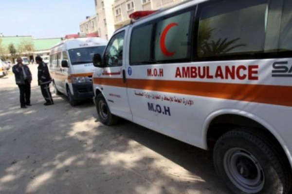 أربع إصابات إحداها خطيرة بحادث سير ذاتي في سلفيت
