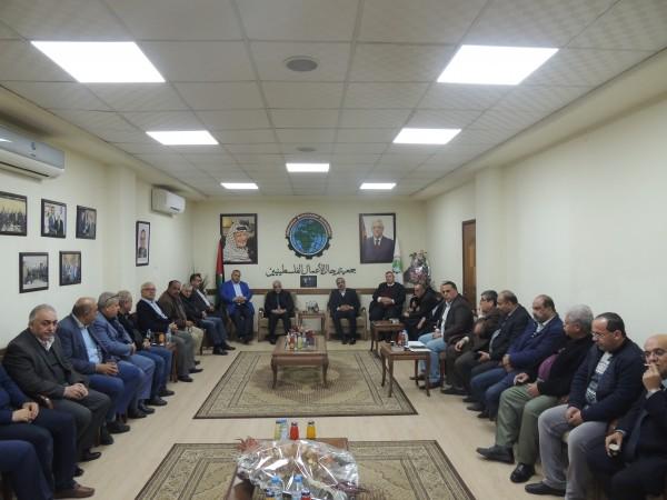 رجال الأعمال تستقبل محافظ غزة لاطلاعه على مشاكل القطاع الخاص