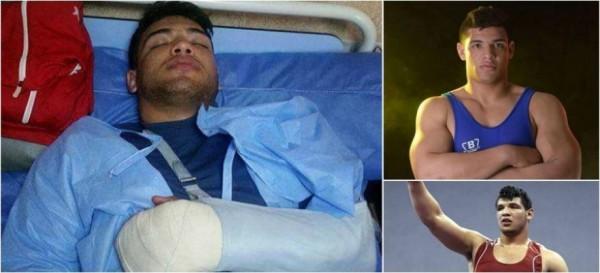 فيديو: مجهولون يعتدون على بطل مصارعة مصري ويقطعون أصابعه