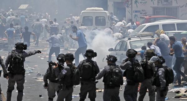 إصابات في مواجهات مع الاحتلال في القدس