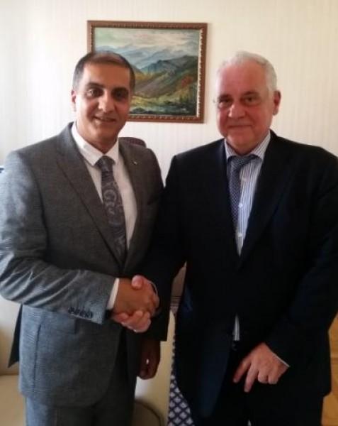 السفير المذبوح يلتقي كبير مستشاري رئيس الجمهورية البلغارية