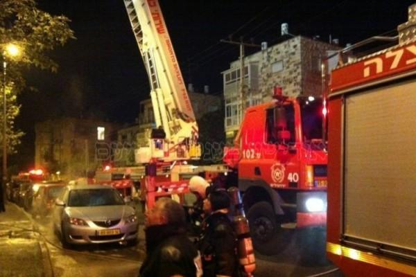 الرامة: اندلاع حريق في منزل مأهول