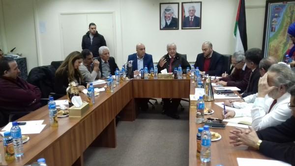 الوزير أبو شهلا يناقش تشكيل الفريق الوطني للتفكير الاستراتيجي
