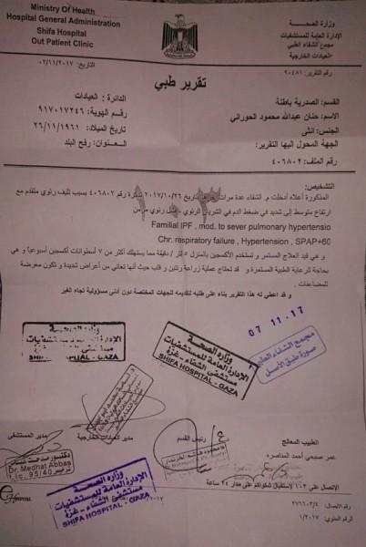 مناشدة عاجلة إلى الرئيس محمود عباس