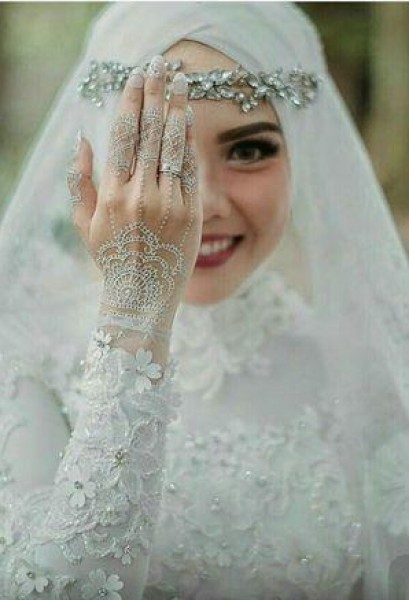 e7591e0c3 صور: للمحجبات فساتين زفاف عملية | دنيا الوطن