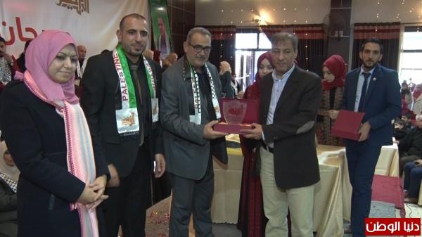 فيديو وصور.. ابن النفيس يتوج الفائز بمسابقة أميرة الصحة بفلسطين لعام 2017