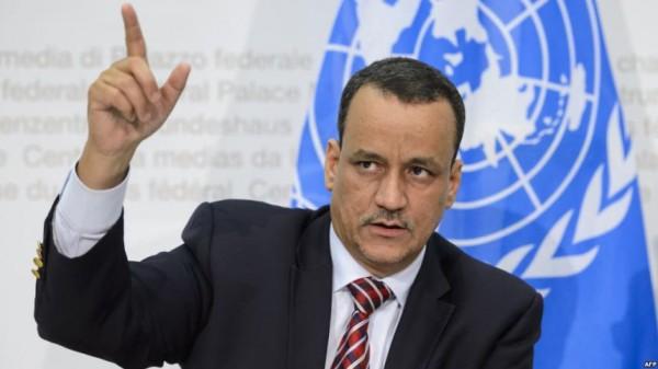 استقالة مبعوث الأمم المتحدة الخاص إلى اليمن إسماعيل ولد الشيخ